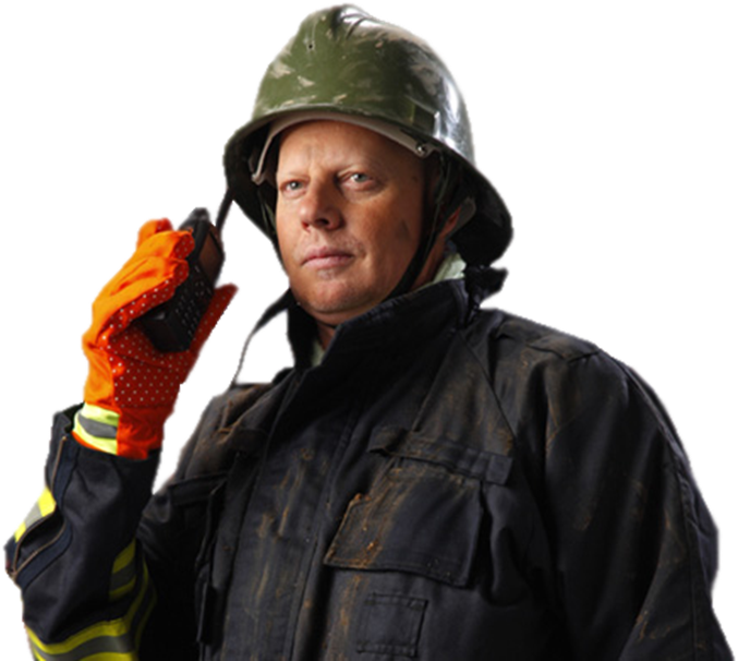 Hytera Turkey Fireman